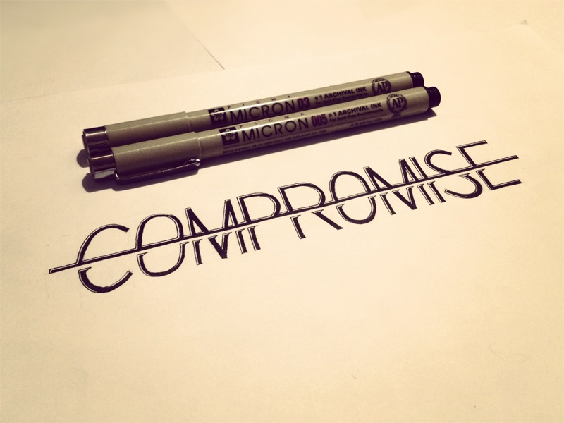 No Compromise Hand Lettering By Seanwes