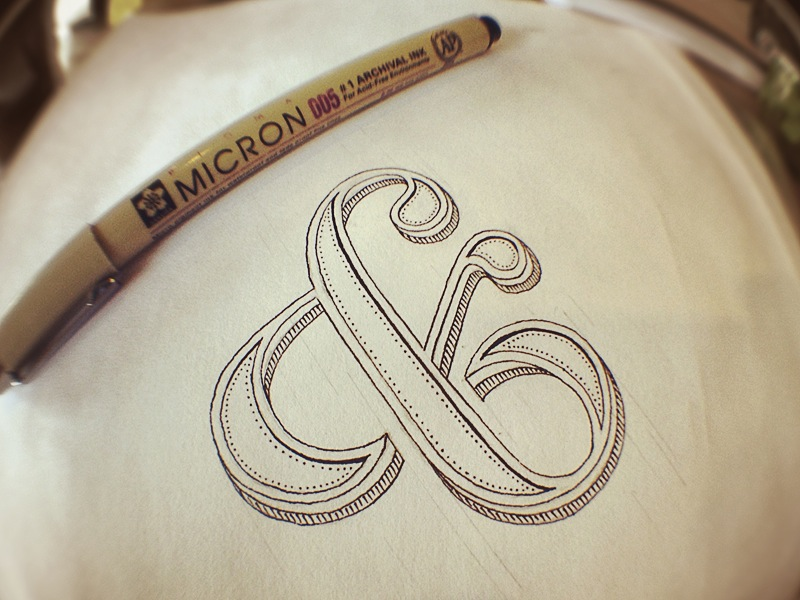 ornate-ampersand-concept