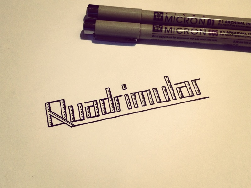 quadrimular-sketch