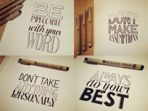 hand-lettering-four-agreements