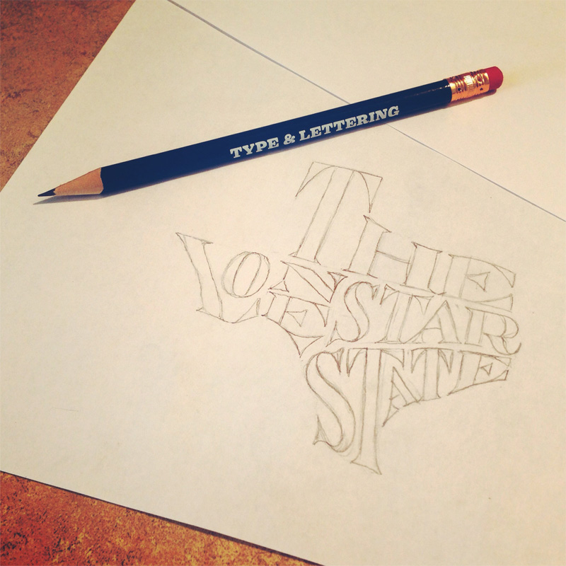 the-lone-star-state-sketch