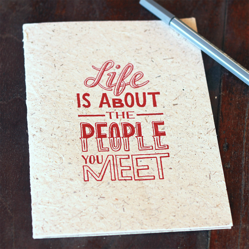 life-is-about-the-people-you-meet-card