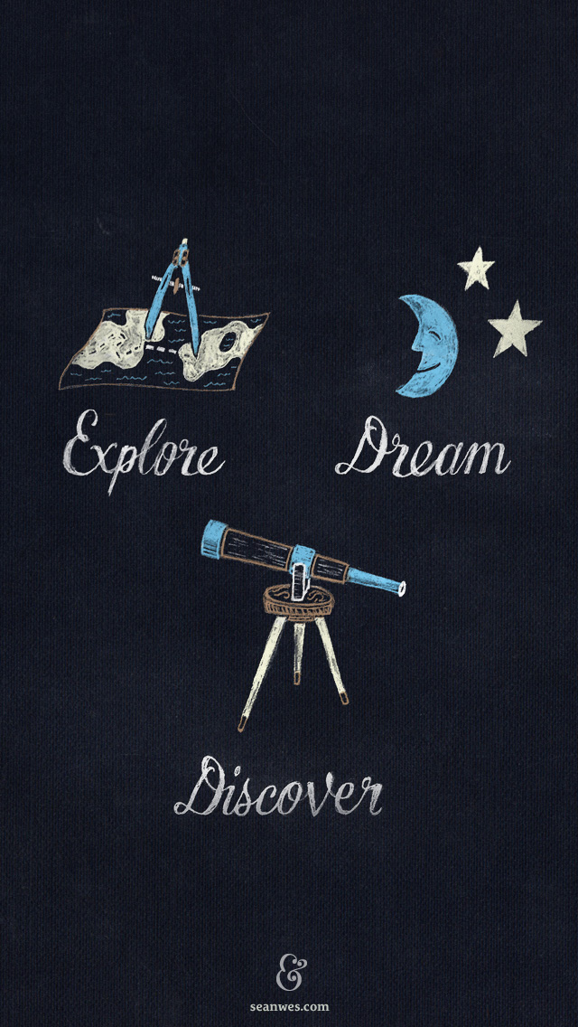explore-dream-discover-iphone-wallpaper