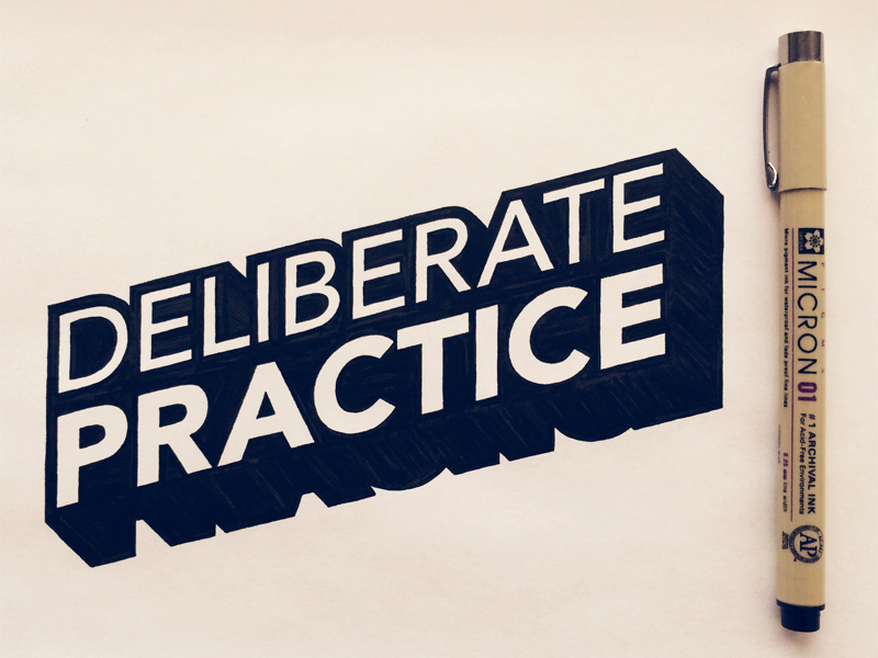 deliberate practice by seanwes