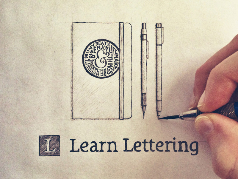 Learn Lettering Sketch Hand Lettering By Seanwes