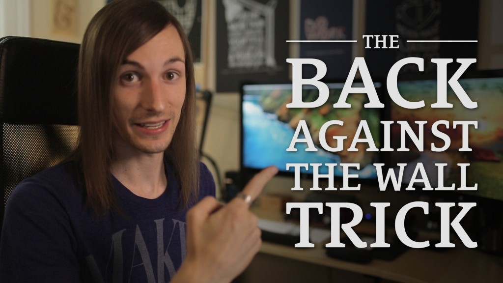 """011: How Do You Get So Much Done? (The """"Back Against the Wall"""" Trick)"""