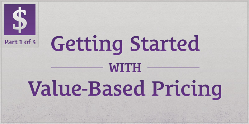 getting-start-with-value-based-pricing