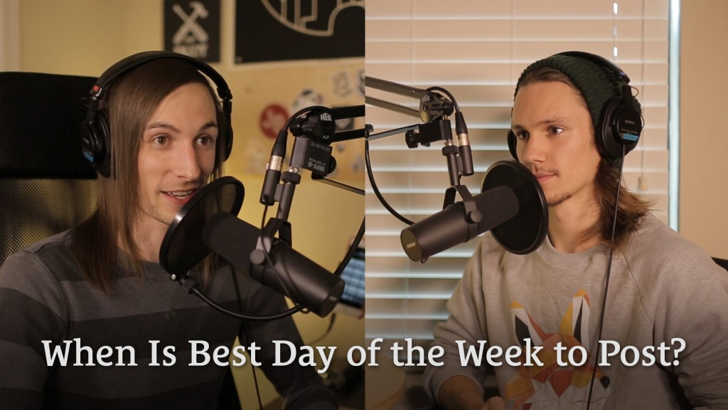 048: When Is Best Day of the Week to Post?
