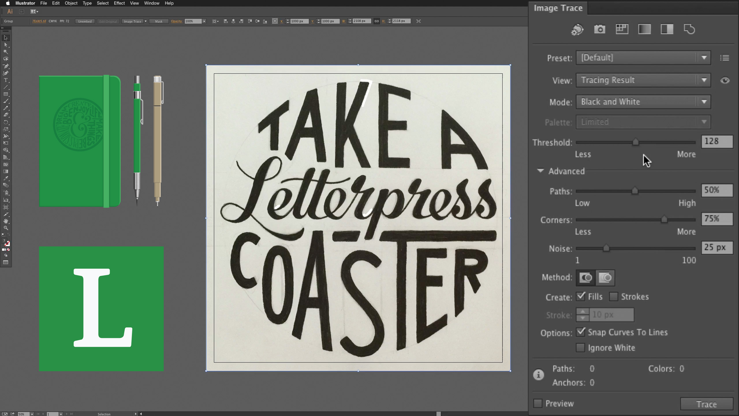 How To Digitize Hand Lettering Seanwes