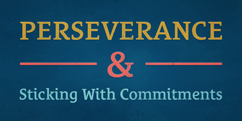 154 Perseverance And Sticking With Commitments Seanwes Podcast