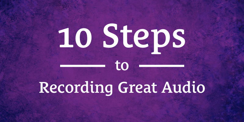 Introduction To Recording Audio Featured Image