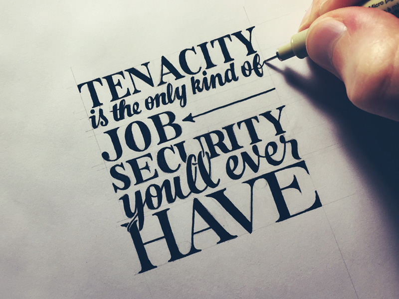Lettering hand lettering by seanwes Calligraphy as a career
