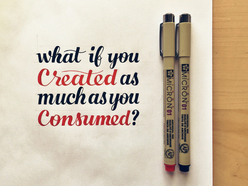 what-if-you-created-as-much-as-you-consumed
