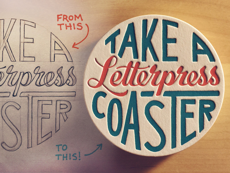 Hand Lettering Sketch to Vector Process Video