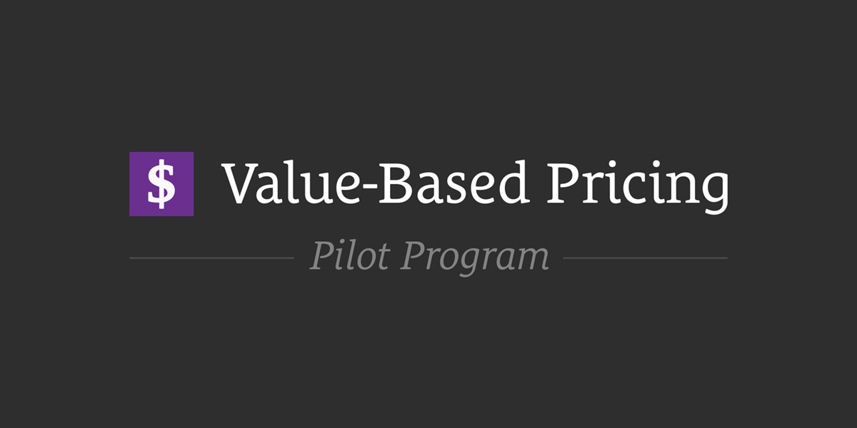 value-based-pricing-pilot-program