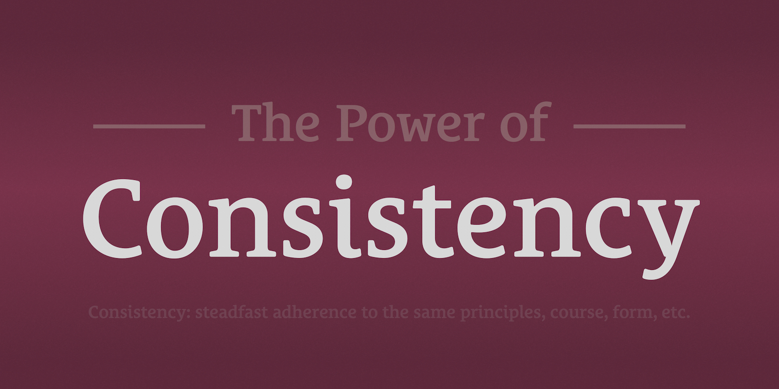 Podcast Dude 29: The Power of Consistency