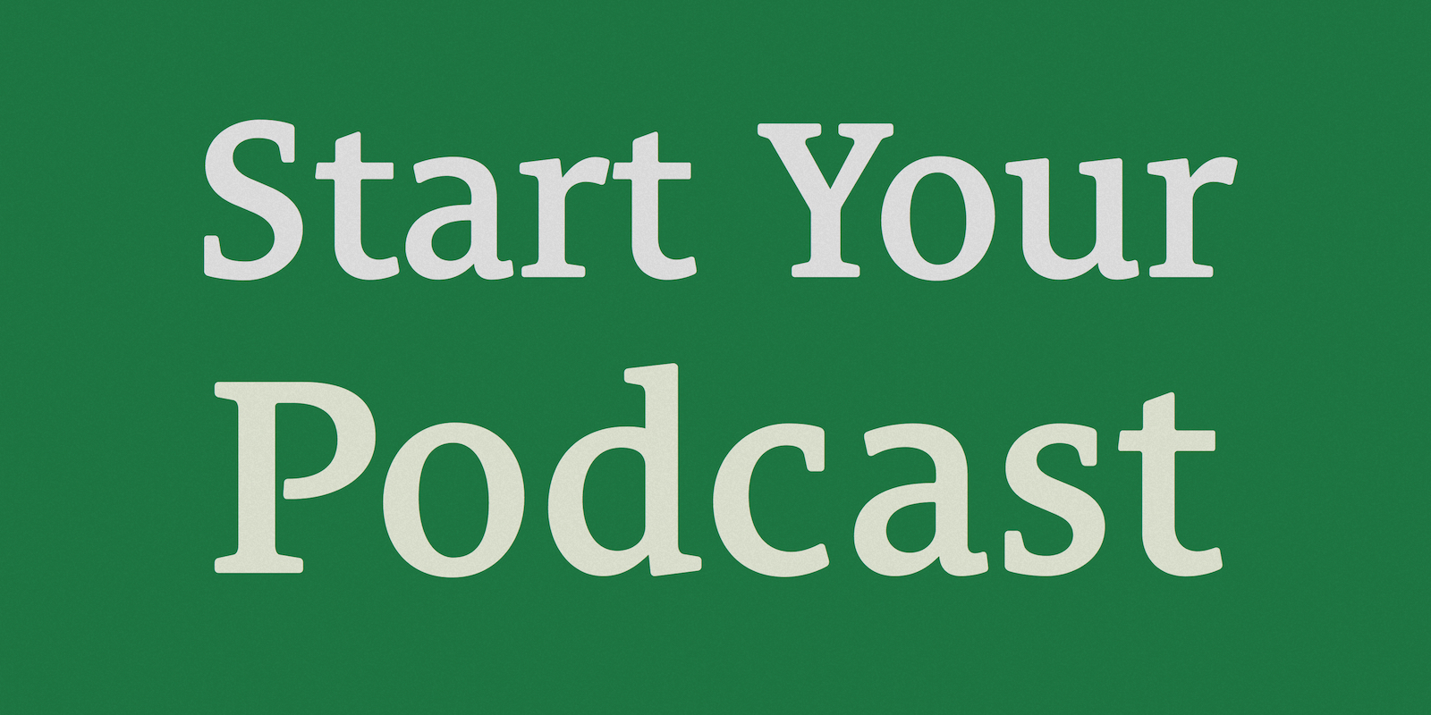 The Podcast Dude 31: Why 2016 is the Time to Start Podcasting