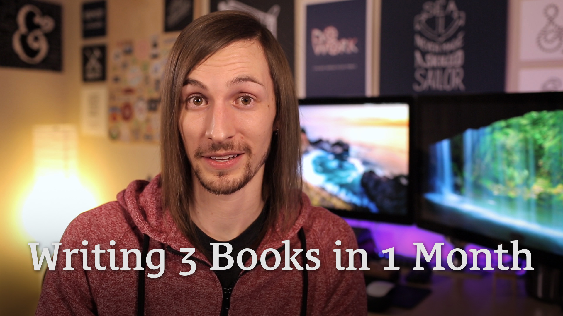 Writing 3 Books in 1 Month