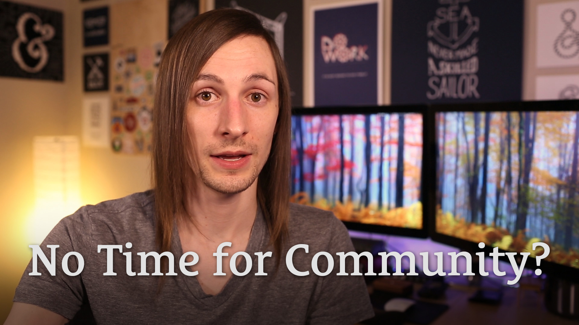163: I Don't Have Time to Join a Community