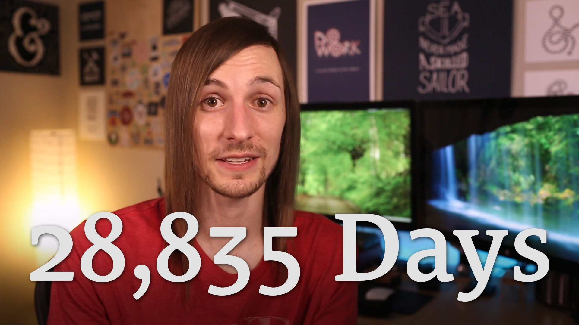 28,835 Days of Dedication