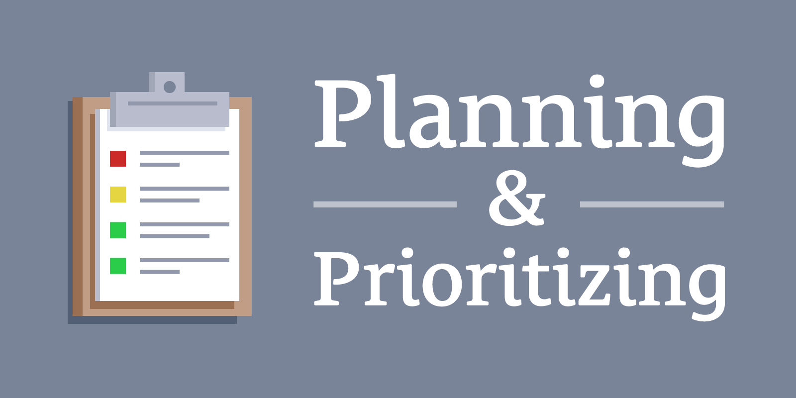Image result for plan and prioritize