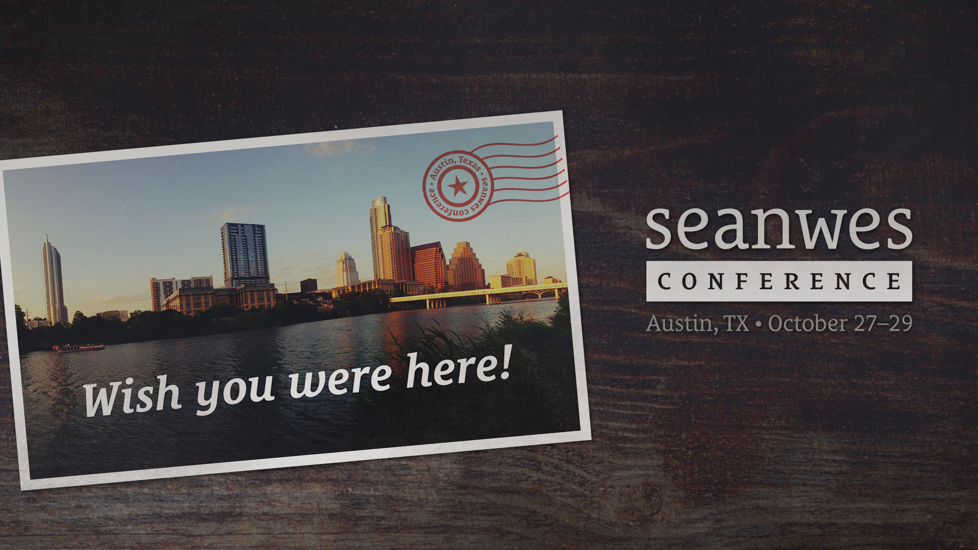 seanwes conference - Wish You Were Here
