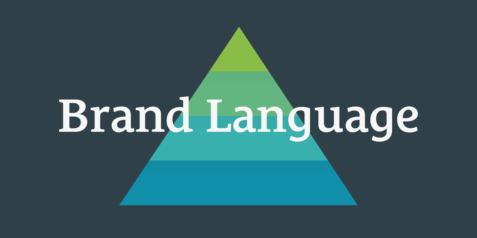 The Four Tiers of Brand Language