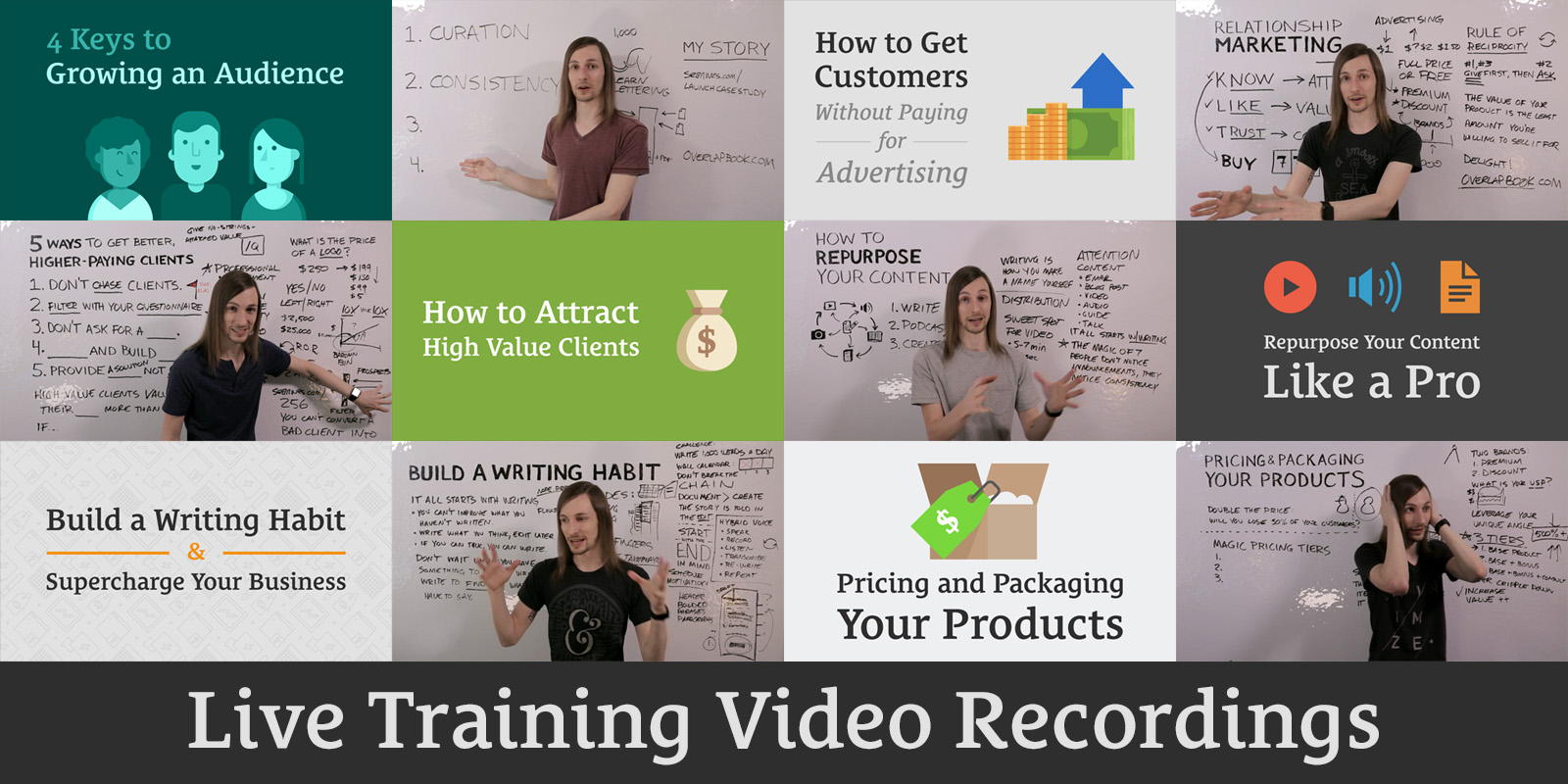 Live Training Video Recordings