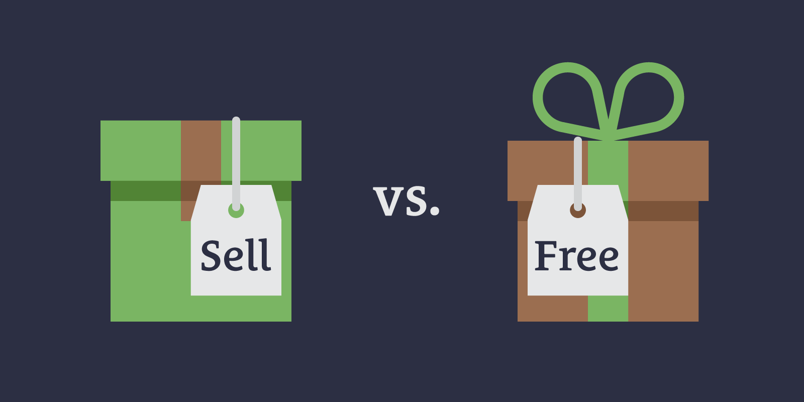 What Should You Give Away for Free vs. Sell?