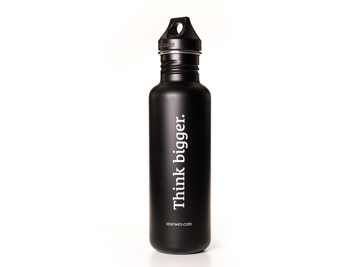 Think Bigger Water Bottle