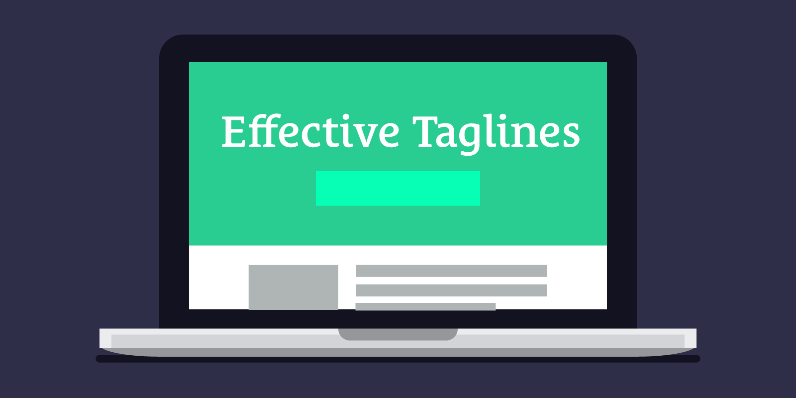 What Makes an Effective Tagline?