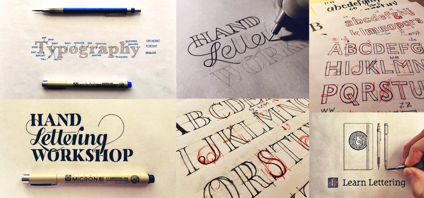 Hand Lettering Tutorial Learn