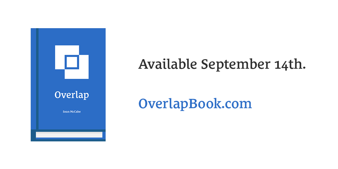 Overlap Book Available September 14th, 2017