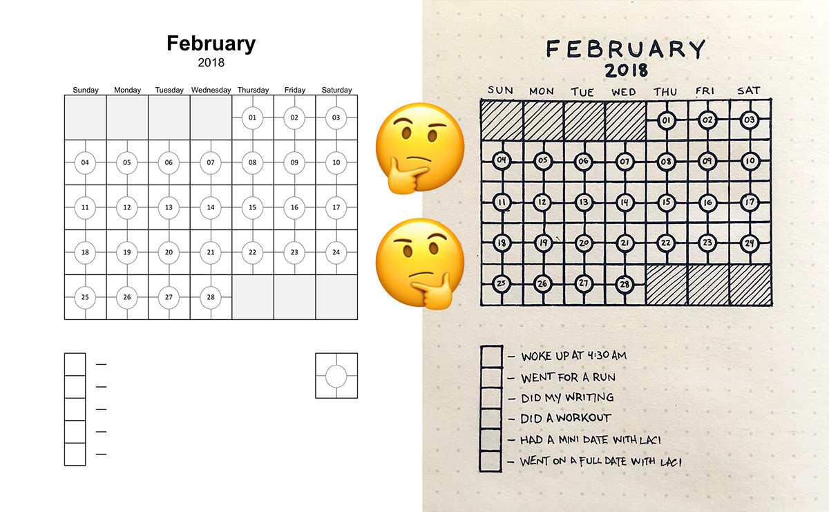photograph relating to Habit Tracker Printable Free named 5 Routine Tracker (Cost-free Printable PDF) seanwes