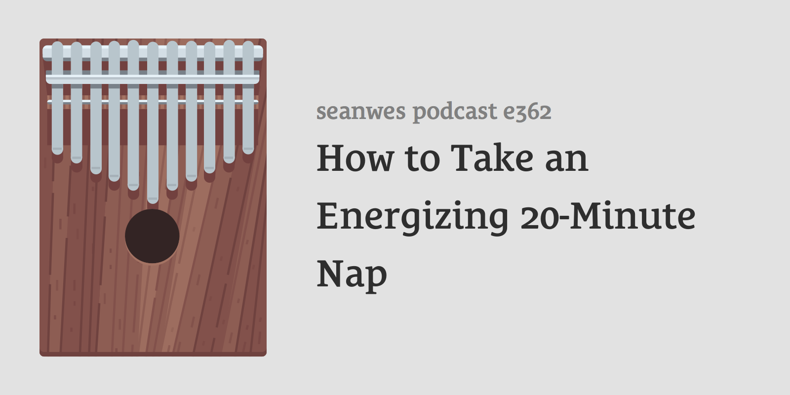How to Take an Energizing 20-Minute Nap