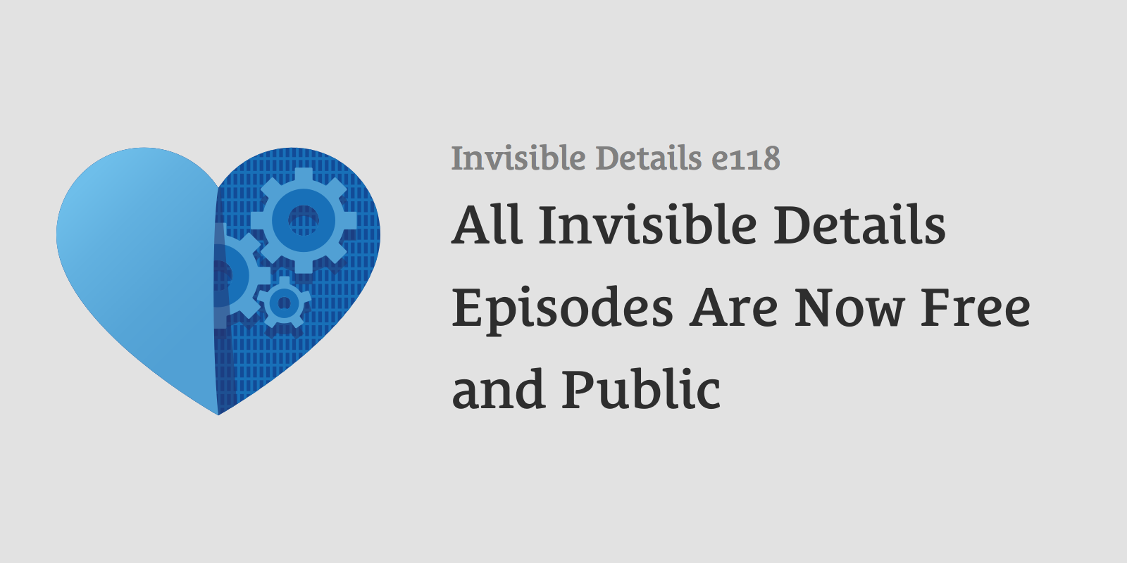 "./phantomjs generator.js invisibledetails 118 ""All Invisible Details Episodes Are Now Free and Public"""