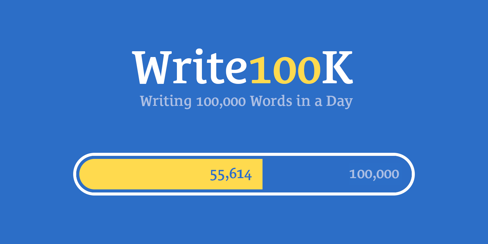 I Tried to Write 100,000 Words in a Day and Failed Spectacularly