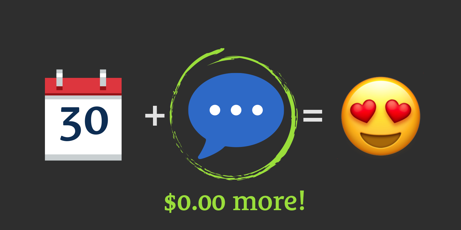 Wait! Become a Member for $0.00 More Today